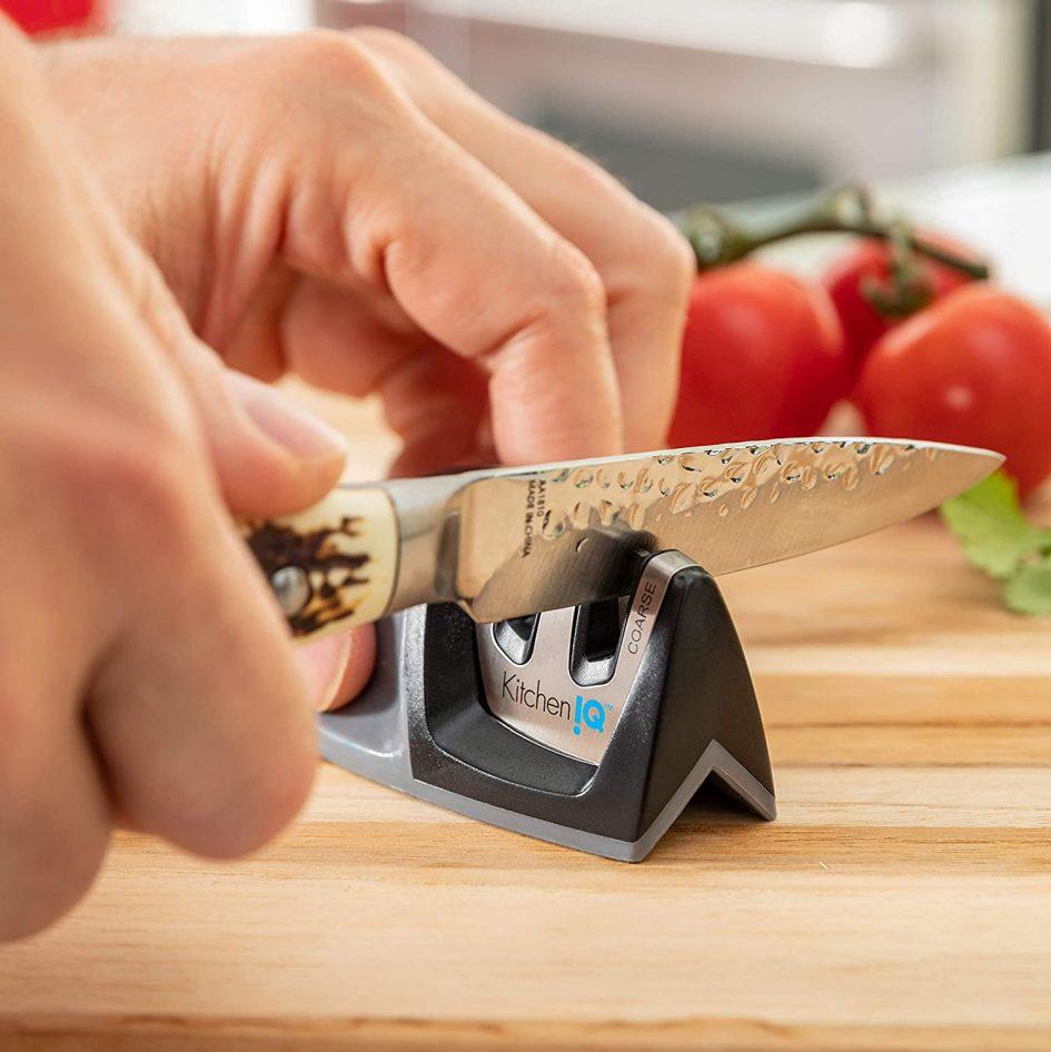 Knife Sharpener by KitchenIQ