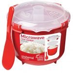 87.2 oz Sistema Microwave Collection Rice Cooker