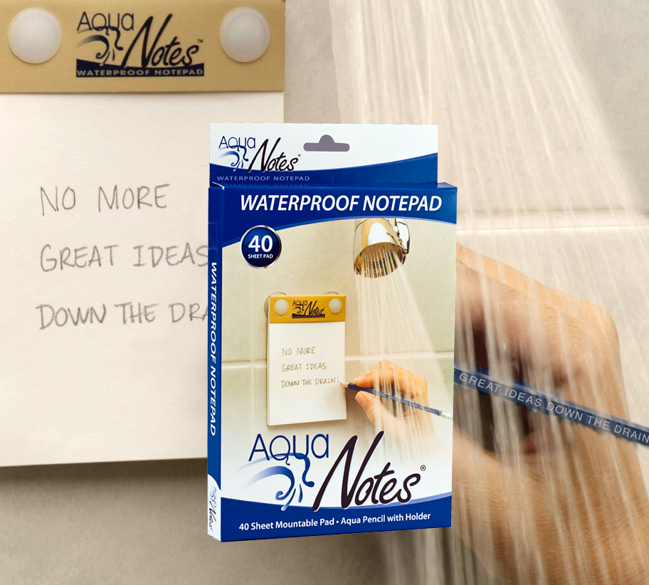 Aquanotes waterproof paper and pencil buy something cool