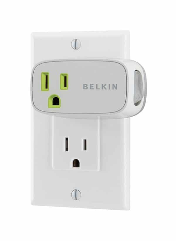 Belkin Conserve Energy Saving Power Switch - Plugged Into Outlet