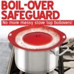 Boil-Over Safeguard Silicone Lid