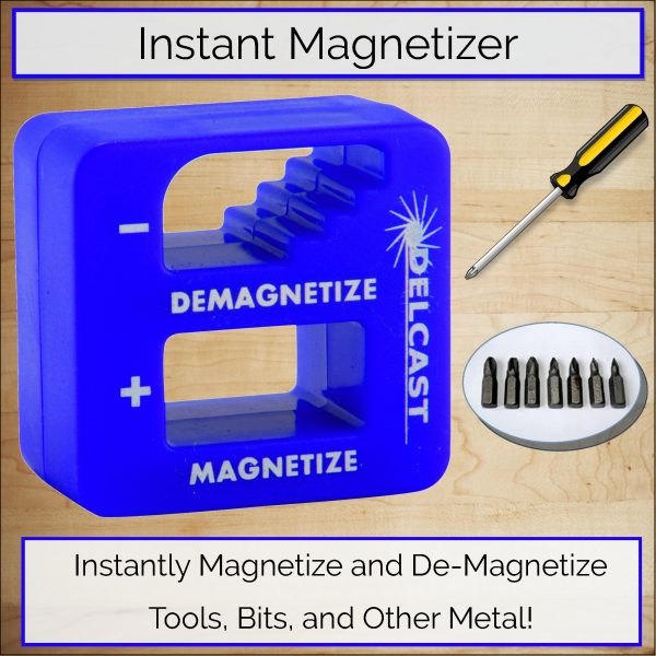 Delcast MBX Magnetizer Demagnetizer Tool - Promo Image