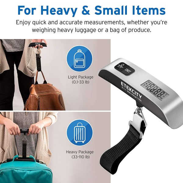 Etekcity Digital Luggage Scale - EL11