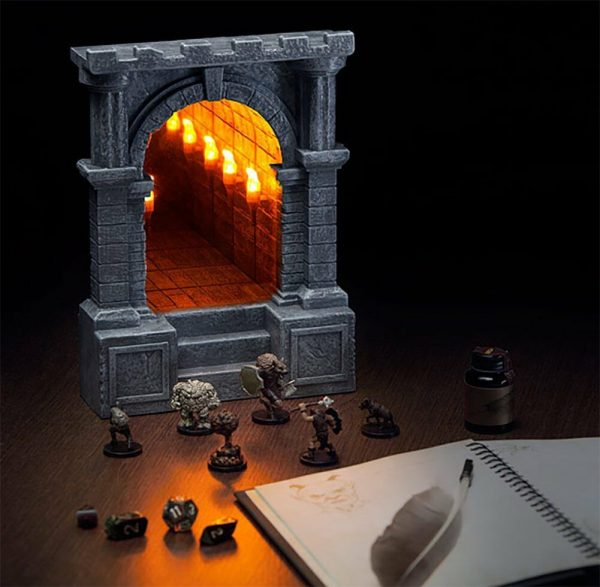 Illuminated Dungeon Infinity Corridor by ThinkGeek