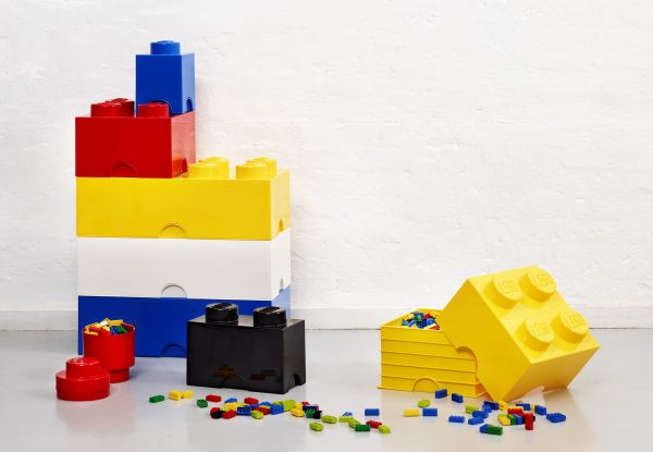 LEGO Storage Bricks - Assorted Colors and Sizes