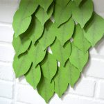 Leaf Sticky Notes on Wall