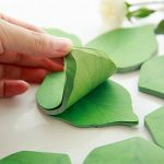 Leaf Sticky notes - Thumbing Through Stack