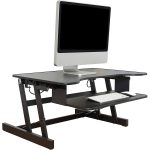 Lorell Sit-To-Stand Monitor Riser - Extended Position