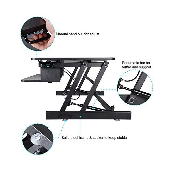 Sit To Stand Monitor Riser Inexpensive Standing Desk