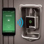 Master Lock 4400D Bluetooth Padlock - Locker Unlock with Smartphone