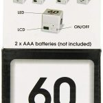 Miracle TimeCube Timer by Datexx - Retail Packaging - Back