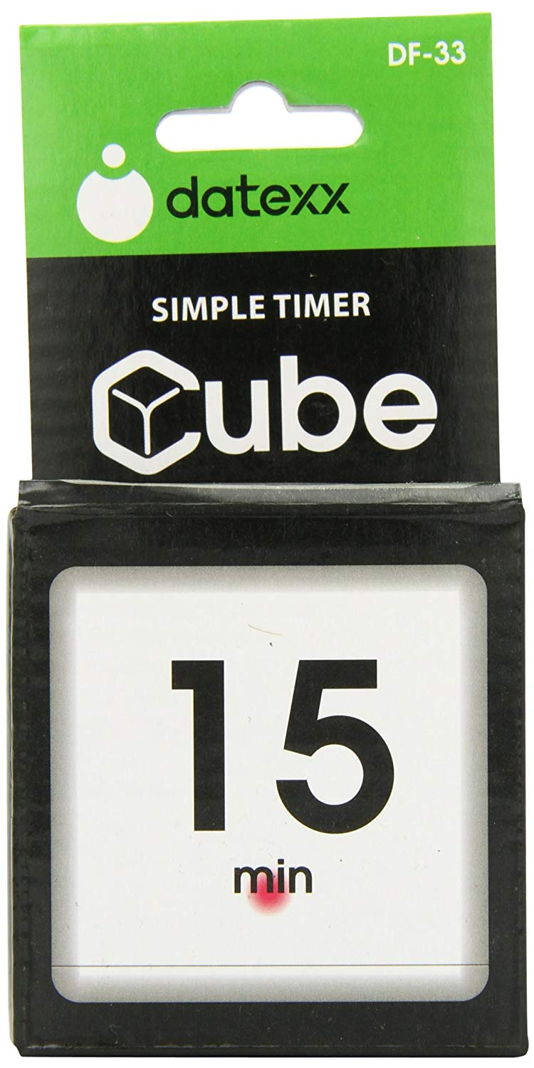 Miracle TimeCube Timer by Datexx - Retail Packaging - Front