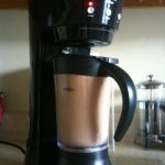 The Mr. Coffee 20-Ounce Frappe Maker in Action