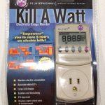 P3 P4400 Kill A Watt Energy Monitor - Retail Packaging