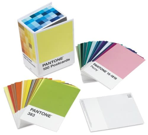 Pantone Postcards Box Set