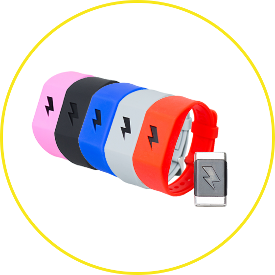 Pavlok Wristband Color Options