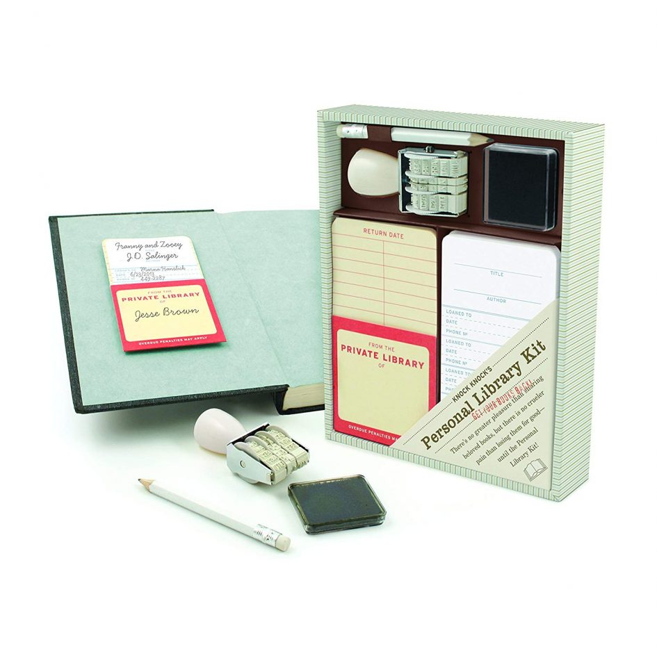 Personal Library Kit by Knock Knock