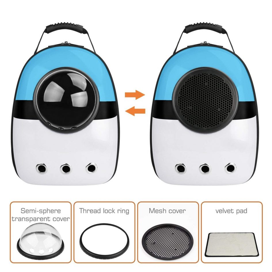 Pet Space Capsule Carrier Backpack - Parts