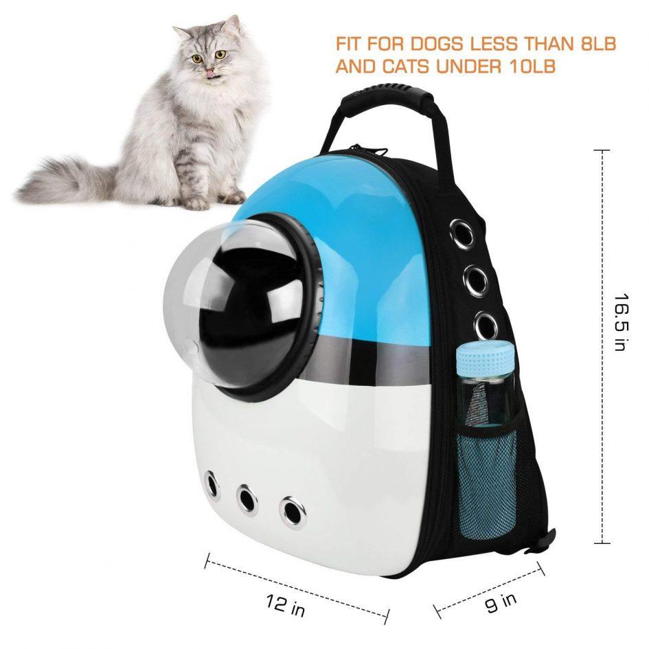 Pet Space Capsule Carrier - Dimensions