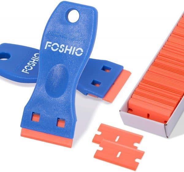 Plastic Razor Blade Scraper Kit - By FOSHIO