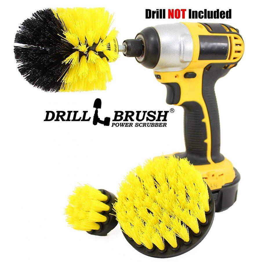 Power Scrubber Drill Brush Attachment