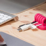 Quirky Cordies Desktop Cable Organizer - Pink