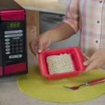 The Rapid Ramen Cooker is designed to perfectly fit a block of ramen