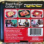 Rapid Ramen Cooker Retail Box Back