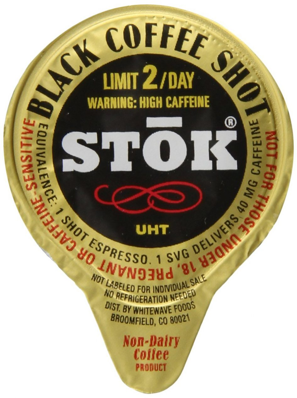 SToK Coffee Shot Individual Creamer Sized Package
