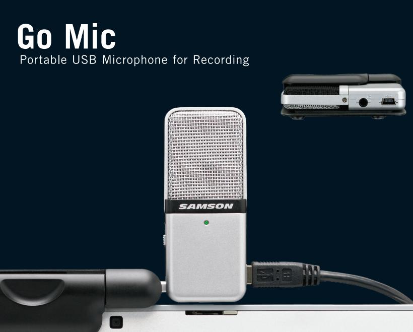 Samson Go Mic Portable USB Microphone