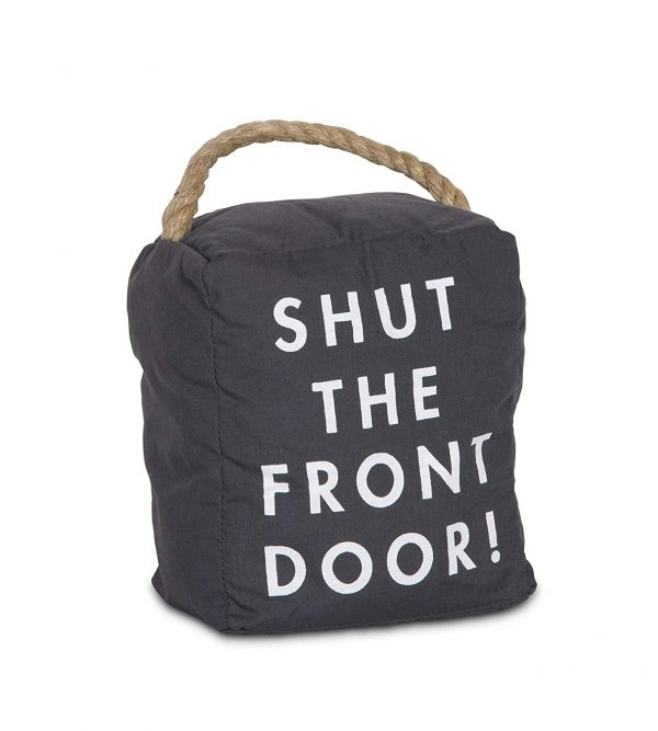 Shut the Front Door - Weighted Door Stopper With Handle