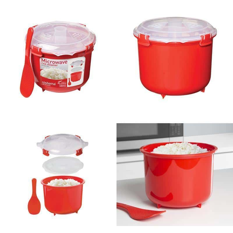 sistema microwave rice cooker buy something cool. Black Bedroom Furniture Sets. Home Design Ideas