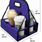 TheBiker Portable Cup Carrier - Dimensions