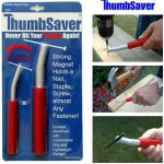 ThumbSaver Magnetic Nail Setter - Retail Packagin