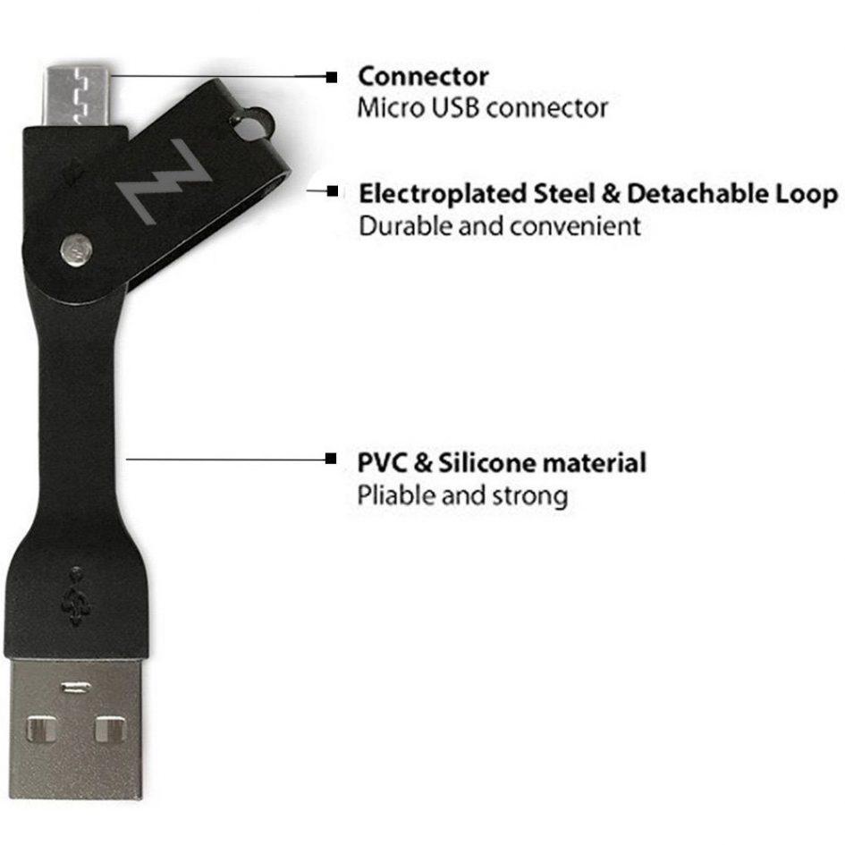 iZapp Portable Data Cable Features