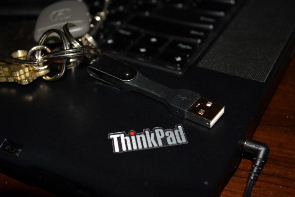 iZapp Portable MicroUSB on Thinkpad